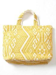 [Rakuten BRAND AVENUE]【『リンネル』6月号掲載】・Market】ジャガード刺繍ビッグトートバッグ coen コーエン バッグ【送料無料】