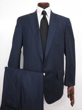 極美品 【ブルックスブラザーズ Brooks Brothers】 Regent カノニコ生地 紺無地 シングル スーツ (メンズ) ネイビー size40 ◇MS2534◇ 【中古】