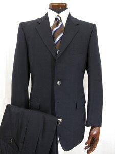 【ポールスミスロンドン Paul Smith LONDON】 ビシネスやリクルートにおすすめ シングルスーツ (メンズ) sizeS ネイビー 紺無地●7MS5030 【中古】