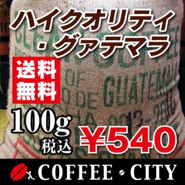 ハイクォリティ・グァテマラ100g【コーヒー豆】【珈琲豆】【コーヒー】【SHB】【ウエウエテナンゴ】【ストレートコーヒー】【送料無料】ゆうパケット専用※日時指定できません
