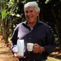 カルロスさんのコーヒーサンターナ農園ブラジル100%200g-BrasilSantanaFazenda-『UTZKAPEH(ウツカフェ)』『レインフォレスト認証』