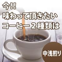 【送料無料】速達メール便限定焙煎マンのおすすめコーヒー豆2種セット