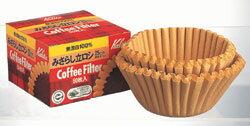 カリタみさらしタイプ立ロシ25cm50枚入コーヒーマシン用濾紙ペーパーフィルター