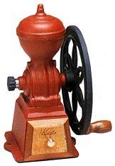 ●20%OFF●カリタ手挽きコーヒーミルダイヤミル(レッド)鋳鉄製ダイヤコーヒーミル