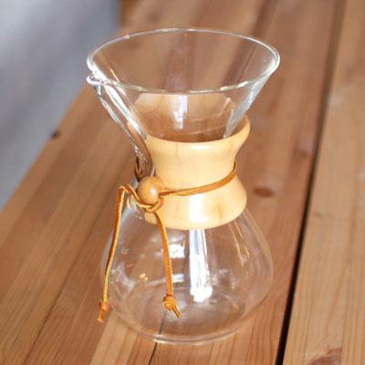 6カップ用 箱入り ケメックス(CHEMEX)コーヒーメーカー (ワイン(=750ml)8本と同梱可)※箱のデザインが画像と異なる場合がございます。