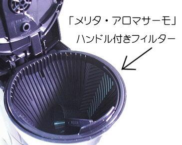 メリタ・アロマサーモ5杯用対応 交換フィルター CF-52