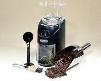 《コーヒー豆100g付・送料無料》デロンギコーヒーグラインダーKG364J【0903_送料無料】
