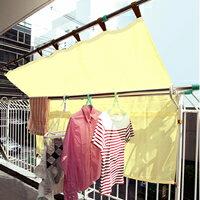 雨・花粉・黄砂対策◆雨対策ベランダカーテン [コジット]花粉リリース率98.1%!ベランダの目...