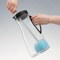 ガンコな汚れをキレイに簡単に落とす!◆マイクロファイバーボトル洗いブラシ [コジット]水筒...