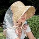ガーデニング、日よけに◆クールUVカット帽子(フラワー) [コジット]麦わら帽子が進化した!ガ...