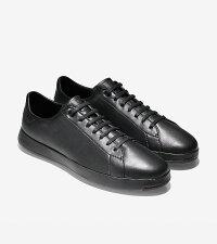 コールハーンColehaanメンズアパレルグランドプログランドプロテニスmensC24138ブラック/ブラック