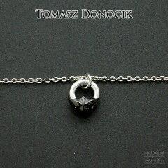 TOMASZ DONOCIK( トーマス ドノチック )スター チェーンネックレス○ブラックシルバー×シル...