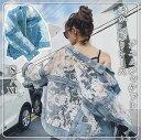【人気デザイン】春秋新作 レディース レース 後ろ姿に 透けて デニムジャケット ファッション CHIC アウター カジュアル ゆったりデニムジャケット・・・