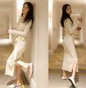 限定SALE ニットワンピースで韓国ファッションを!【レディ...