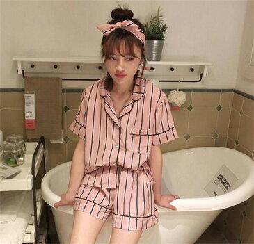 メール便のみ送料無料❤韓国大人気❤パジャマ 2点セット 女性パジャマ レディースパジャマ 婦人ナイトウェア ルームウェア 上下セット 寝間着 肌にやさし