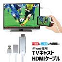 iPhone HDMI 変換 ケーブル ミラーリング Mir
