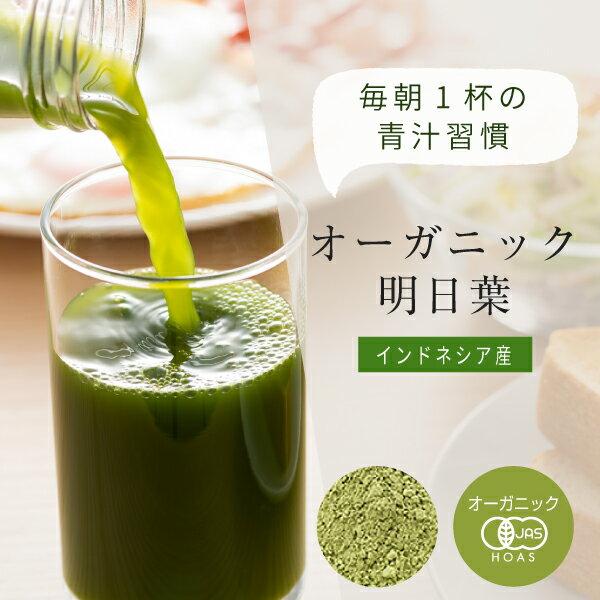 明日葉青汁【インドネシア】500g有機明日葉茶あしたば粉末サプリ