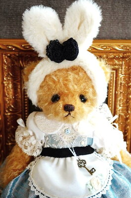 後藤千晶のテディベアAlice Bear