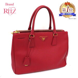 Pre-owned Prada Bag Tote Saffiano BN2274 Hand FUOCO Red Red AB Rank Ladies Tomorrow [Free Shipping] [Naya store]