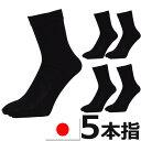靴下 ソックス メンズ 5足セット 5本指 五本指 国産 日本製 送料無料(ネコポスの場合)五本指靴下 五本指ソックス 靴下 メンズ セット 消臭加工 水虫対策 5本指ソックス 5本指ソックス メンズ 5本指ソックス 綿 靴下メンズ メンズ靴下 くつした送料無料/(00128)・・・