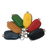 【正規品オロビアンコ】オロビアンコ Orobianco TINY RING-I タイニーリング 0179 レザー ジップ式 コインケース 財布 全6色 ブラック/イエロー/レッド/グリーン/ブラウン/ネイビー