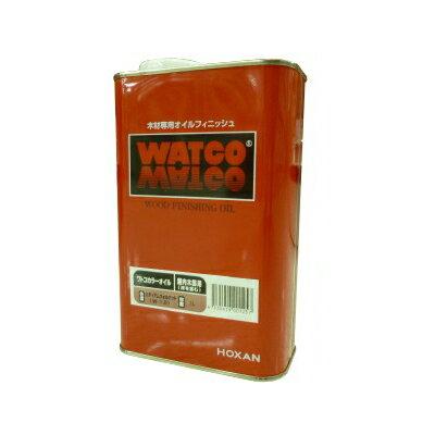 ●☆期間限定☆はけ付き ワトコオイル ダークウォルナット W-13 [1L] WATOCO・家具・壁面・建具・オイルフィニッシュ