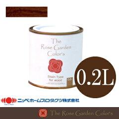 木目がキレイに見える着色(ステイン)半透明仕上げ。かわいらしいパッケージも魅力!The Rose Ga...