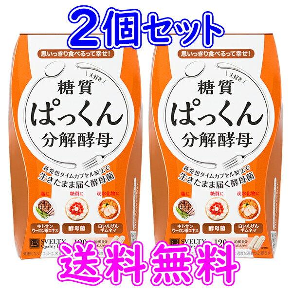 【あす楽】【即納】ぱっくん分解酵母 120粒【2個セット】