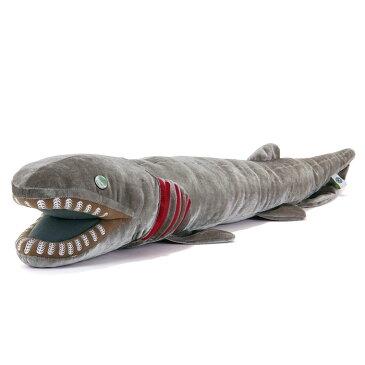 【動物 ぬいぐるみ リアル ラブカ LLサイズ】生物 魚類 サメ 鮫 深海ザメ 大型 ビッグ 大きい