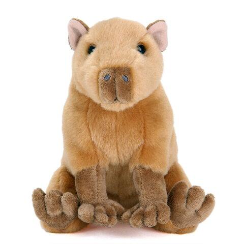 【動物 ぬいぐるみ カピバラ おすわりシリーズ】生物 ネズミ 鼠