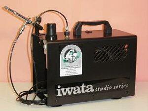 【送料無料】【IS-925】ANEST IWATAアネスト岩田オイルフリーミニコンプレッサパワージェットラ...