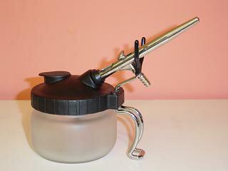 エアーブラシクリーニングポット捨て吹き用ポットHPA-ACP