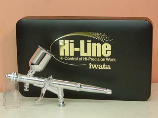HP-THアネスト岩田エアーブラシ(ノズル0.5mm口径・塗料容器15ml)丸吹き・平吹き対応・トリガータイプハイラインシリーズ・エアーブラシANESTIWATAMEDEAアネスト岩田キャンベルCAMPBELLエアブラシ