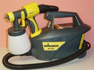 新発売WAGNERワグナーHVLP温風低圧塗装機ファインコート・ガンW660コンプレッサー不要。100V電源HVLP温風低圧スプレー送料無料