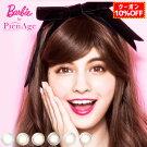 ピエナージュバービー2week(1箱6枚)BarbiebyPienAge2週間度あり度なしカラコンカラーコンタクトナチュラルマギーSHO-BI14.5mm