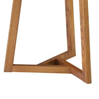 サイドテーブル丸型フレック天然木アッシュ材直径40cm
