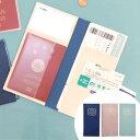 チケットケース パスポートケース 貴重品入れ ( トラベルグ...