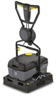 小型床洗浄機業務用ローラーブラシ式ケルヒャーBR40/10C