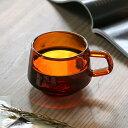 キントー KINTO コーヒーカップ 270ml SEPIAシリーズ ガラス 食器 ( ティーカップ カップ コップ マグカップ 北欧 来客用 マグ 耐熱ガラス 食洗機対応 電子レンジ対応 カフェ風 洋食器 おしゃれ )【4500円以上送料無料】