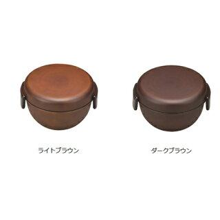 ランチボウルどんぶり弁当箱SEE樹脂製木製風軽くて割れにくいレンジ対応食洗機対応700ml