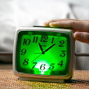 置き時計 目覚まし時計 自動点灯 ライト ブリリア 連続秒針 ( アナログ 時計 置時計 インテリア 雑貨 クロック とけい アラーム スヌーズ機能 常夜灯 枕灯 電池式 卓上 )【3980円以上送料無料】