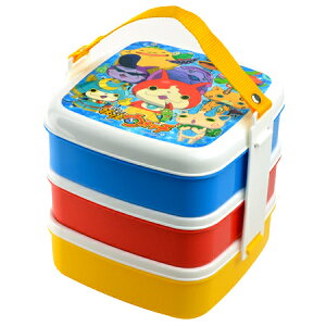 大人気!妖怪ウォッチのピクニックケース お弁当箱 ランチボックス 重箱 お重 仕切り付お弁当箱...