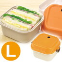 お弁当箱 ランチフェスタ 2段 L オレンジ ( 弁当箱 ランチボックス レディース ) 【4500円以上送料無料】