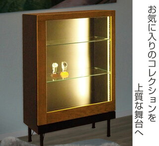 コレクションケースショーケースLEDライト付アルディ幅60cm