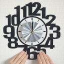 ウォールクロックステッカー ウォールステッカー 時計 ナンバー Wall Clock Stic...