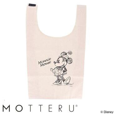エコバッグ MOTTERU モッテル コットンマルシェ M Minnie ( ミニーマウス ディズニー Disney 買い物バッグ 買い物袋 買い物かばん ショッピングバッグ トートバッグ レジバッグ エコロジーバッグ 手提げ袋 サブバッグ )【4500円以上送料無料】