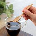 スプーン デミスプーン 12cm 栗の木 天然木 カトラリー ( 木製 デミタススプーン エスプレッソ 木 ウッドカトラリー 和食器 栗 木のスプーン 調味料 紅茶 コーヒー )【3980円以上送料無