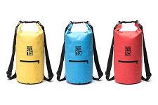 ドラム型防水パックアウトドアバッグ