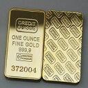 クレディスイス ゴールド インゴット1oz 1オンス レプリカ 金地金 2
