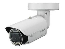 ウェブカメラ SONY SNC-VB632D 赤外線・白色LED照射機能を搭載し、照度0ルクス環境下での撮影を可能にしたIP66準拠のフルHDネットワークカメラ